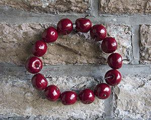 Äppelkrans dekoration