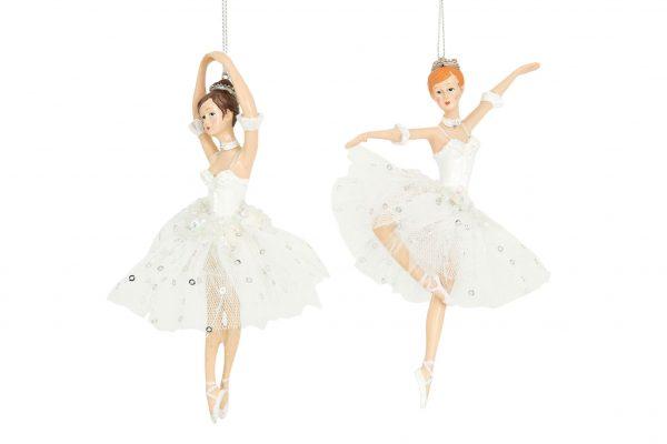 Ballerina hängdekoration julgranspynt