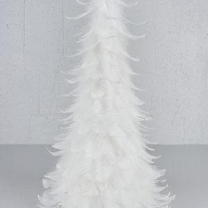 Fjädergran vit