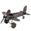 flygplan i metall dekoration