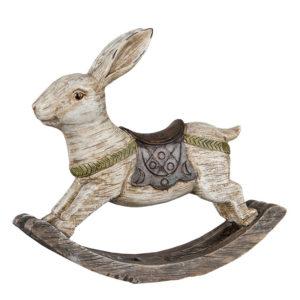 Gunghäst hare dekoration