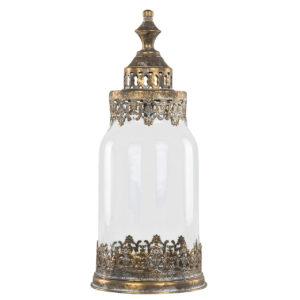 Ljuslykta guldbrun spets tsar