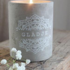 Majas Cottage Doftljus Glädje Lavendel