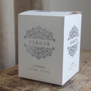 Majas Cottage Doftljus Glädje Lavendel presentförpackning