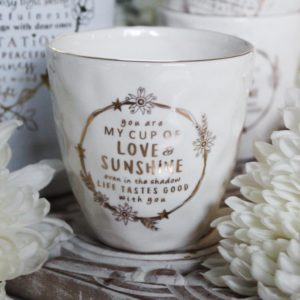 Majas Cottage Mugg cup of love & sunshine