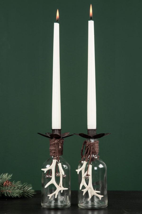 Renhorn på snöre dekoration