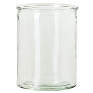 Glasvas i cylinderform