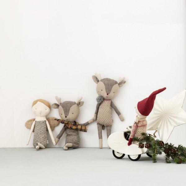 Maileg winter friends reindeer boy