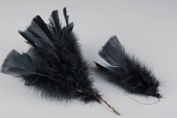 Fjädervippa svart