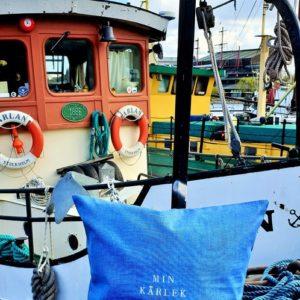 Kuddfodral min kärlek till havet
