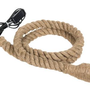 Lampa i jute rep