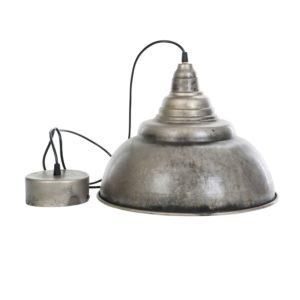 Taklampa i metall industristil