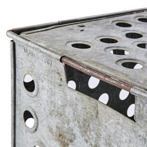 Förvaringsbox vintage låda i järn