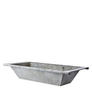 Tvättbalja i zink vintage