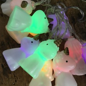 Ljusslinga enhörning unicorn till barnrum