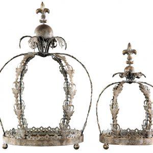 Krona med fat lilja