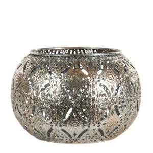 Ljuslykta silver metall