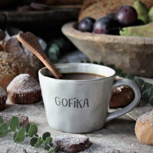 Majas Cottage gofika kopp mugg med öra