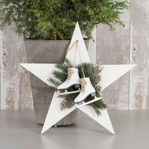 Skridskor jul dekoration