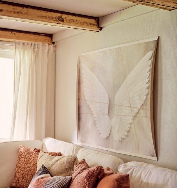 Tavla canvas änglavingar av Lina Gardelid