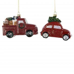 Bilar hänge julgranspynt