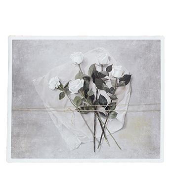 Canvas väggdekoration roses lina gardelid
