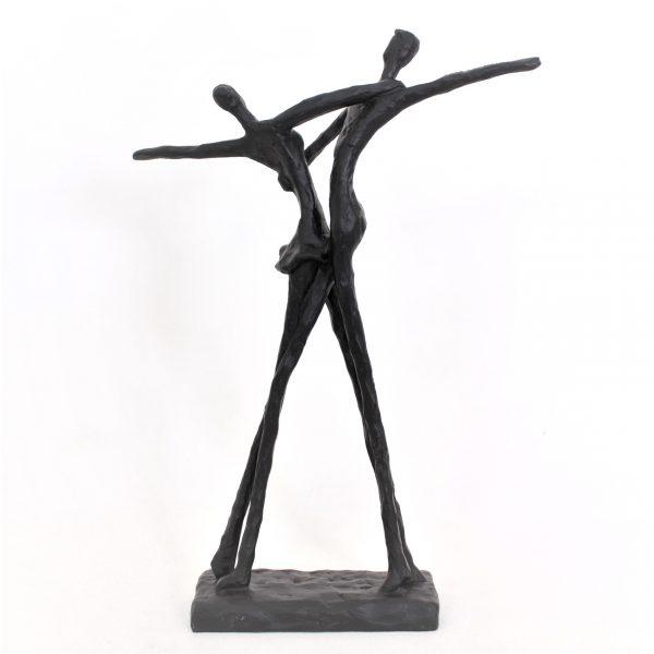 Staty figur dansande par