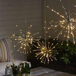 Hängande ljusdekoration firework