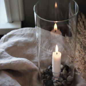 Majas Cottage ljuslykta sinnesro, mod och förstånd