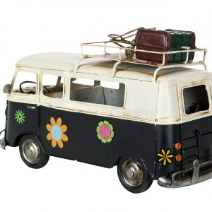 Hippiebuss bil metall dekoration