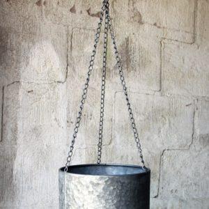Ampel hängkruka i zink