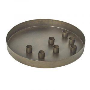Ljusfat för kronlljus i metall