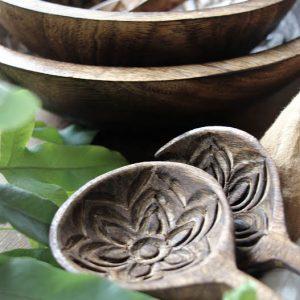 Majas cottage salladsbestick i mangoträ