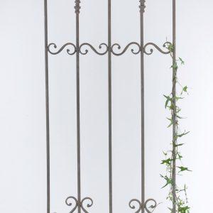 Spaljé växtstöd i grå metall