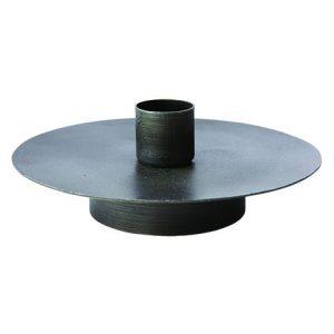 Ljusstake industri svart metall