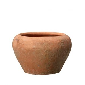 Rund kruka i terracotta