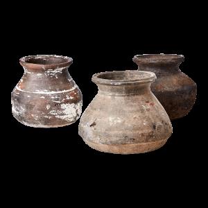 Vintage urna kruka i lera