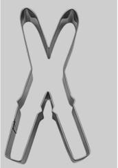 kakform korsade skidor