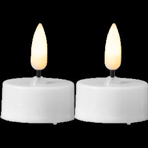 LEDljus flamme värmeljus på 3,8 cm