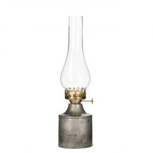 värmeljus grå lampa antik