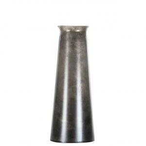Vas i industrigrå metall