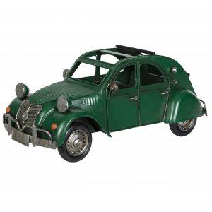 Grön bil metall dekoration
