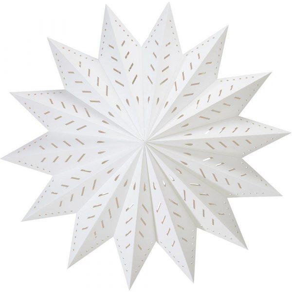 julstjärna vit 50 cm